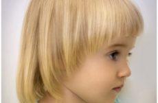 Зачіски на короткі волосся для дівчаток