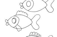 Як намалювати акваріум з рибками дитині
