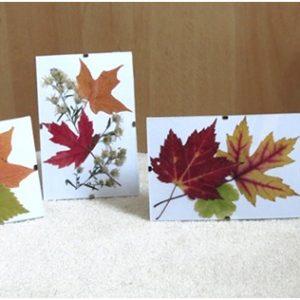 Вироби з листя