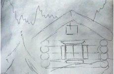 Зимовий пейзаж: поетапне малювання для дітей