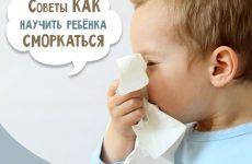 Як навчити дитину сякатися в 2-3 роки