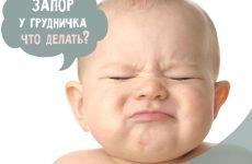 Запор у малюка при грудному або штучному вигодовуванні – що робити?
