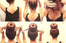 Зачіски для дівчаток на довге волосся: покроково з фото