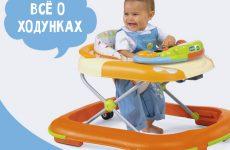Ходунки для дітей: з якого віку, користь чи шкода
