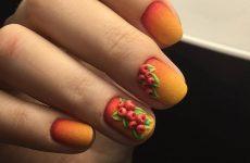 Робимо осінній манікюр 2019-2020: фото ідеї, дизайн нігтів осінь, приклади, манікюр осінь