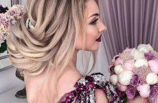 Дивовижні варіанти зачіски на вечір: фото-новинки вечірньої зачіски 2019-2020 роки