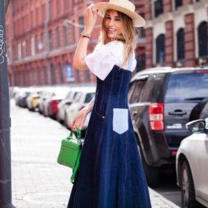 Модні джинсові сукні 2019-2020: трендові новинки сукні з деніму, фото
