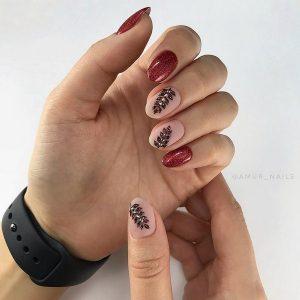 Осінній дизайн нігтів 2019-2020 – нові фото ідеї, модні тенденції манікюру на осінь