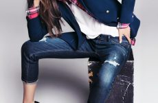 Стильні джинси 2019-2020 роки: новинки, тенденції, модні образи — фото