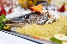 Фарширована щука, блюдо з золотистою скоринкою та кремовою начинкою