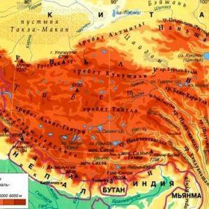 Клімат Тибетського нагір'я, географічне положення