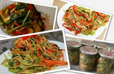 Літній салат кабачки по-корейськи — 5 найбільш смачних рецептів